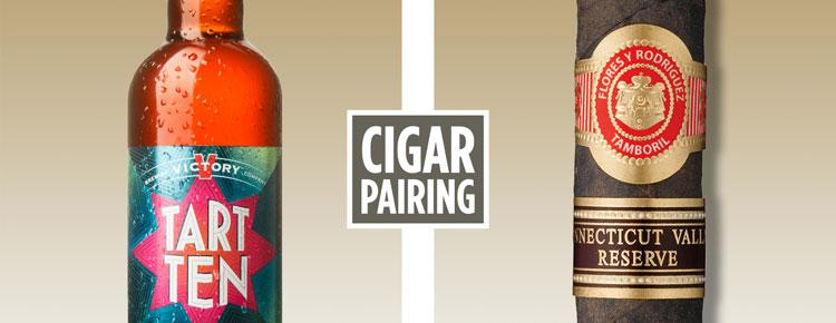 DRINKS: Cigar Pairing—Victory Brewing Tart Ten