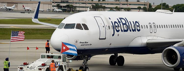 CUBA: American Commercial Flights Resume After 55 Years