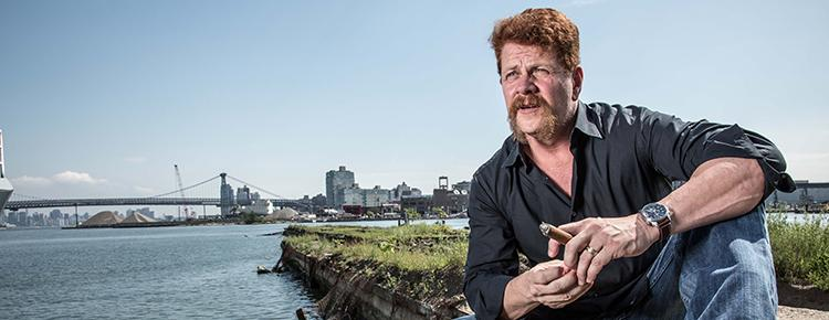 VIDEO: <i>The Walking Dead</i>'s Michael Cudlitz On His Cigar Epiphany