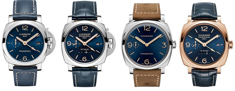 TIME: Panerai's Blue Dial Boutique Editions Celebrate Its Maritime Heritage