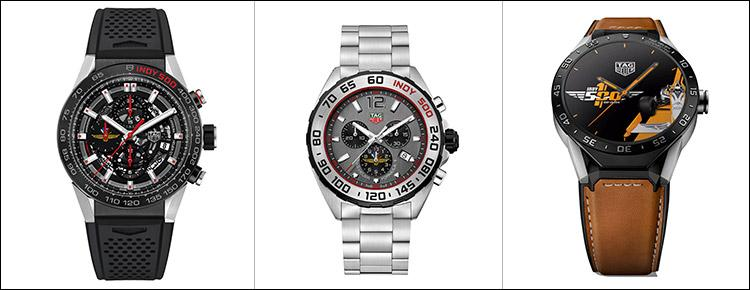 WATCHES: TAG Heuer Presents Limited Editions for Indy 500 Centennial