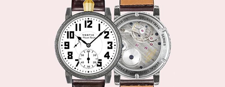 TIME: Vortic Blends Old and New To Produce An All-American Watch