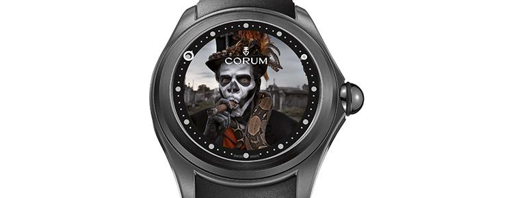 TIME: Corum Casts A Spell With The Big Bubble Magical Voodoo Watch
