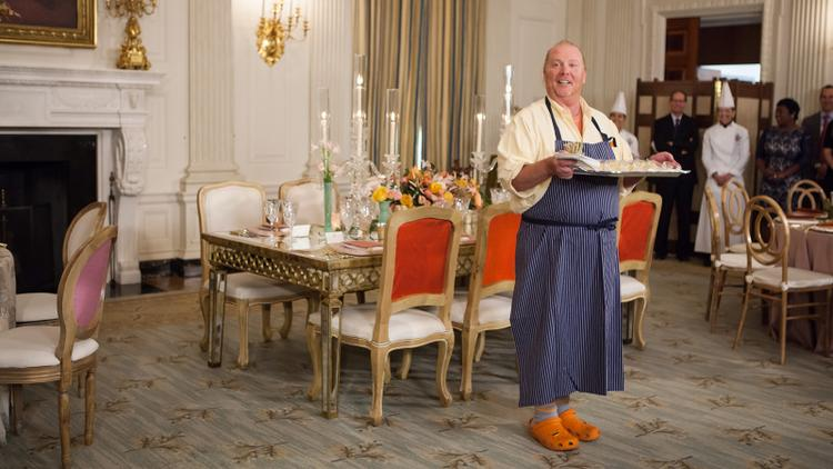 Mario Batali in the White House Kitchen