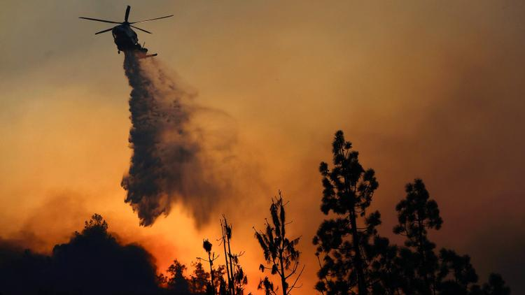 Vintners Fear as Fires Rage in Southern California