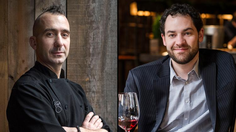 Restaurant Talk: Marc Forgione and Matthew Conway