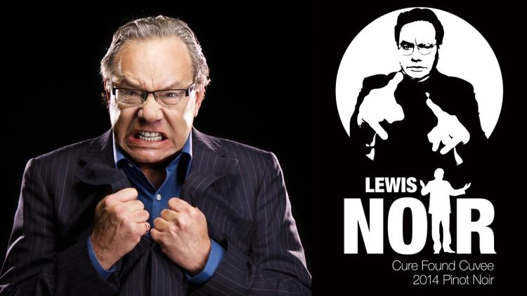 Lewis Black and Loring Go Noir