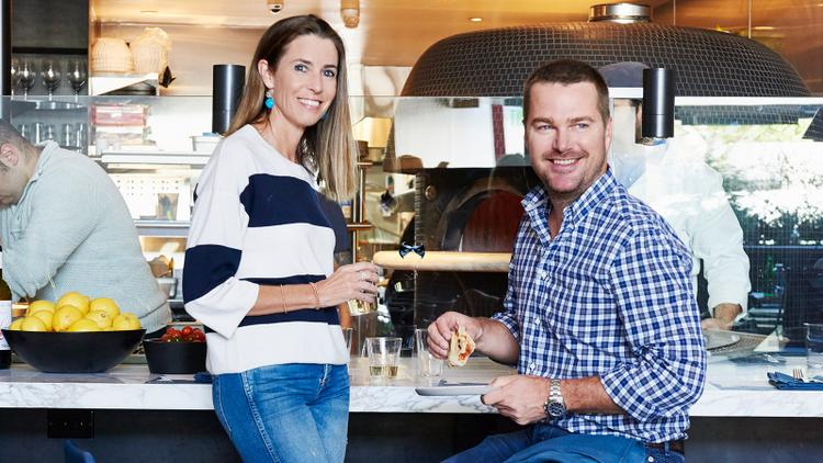 Actor Chris O'Donnell Delivers New Pizzeria