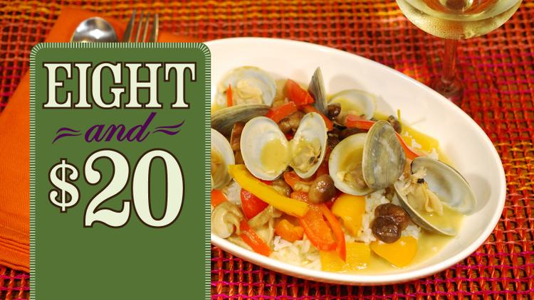 Recipe: Clams in Thai Green Curry