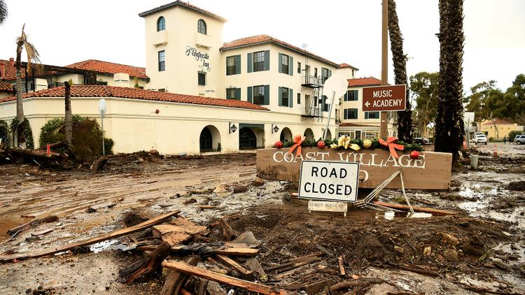 Santa Barbara Community Devastated by Mudslides