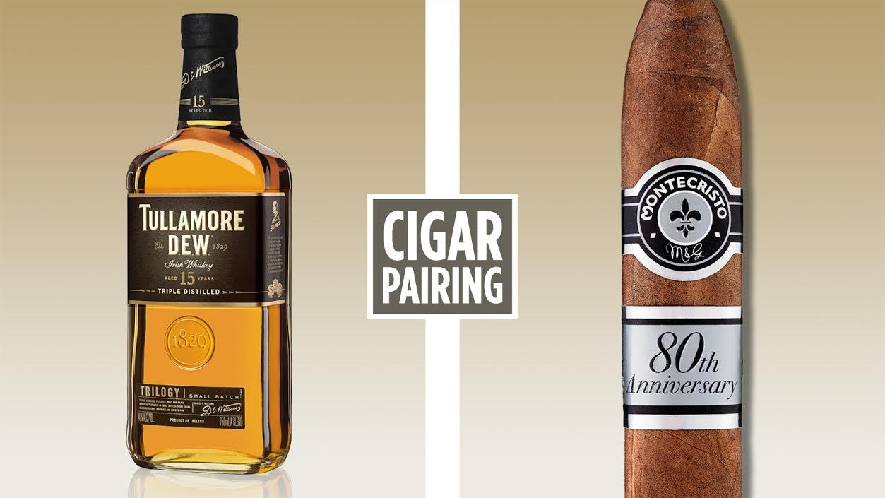 Cigar Pairing: Tullamore D.E.W. 15 Year Old Trilogy