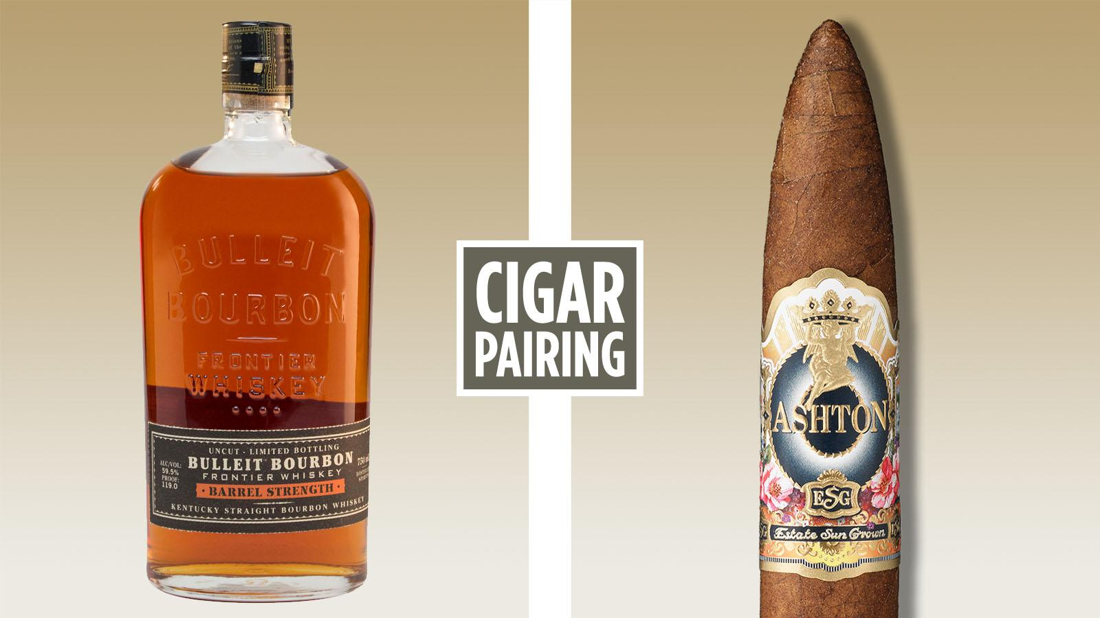 Cigar Pairing: Bulleit Bourbon Barrel Strength