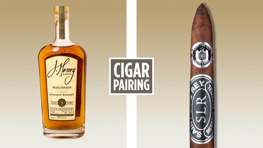 Cigar Pairing: J. Henry Patton Road Reserve Cask Strength Bourbon