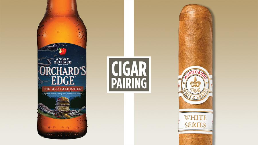 Cigar Pairing: Angry Orchard's The Old Fashioned Cider