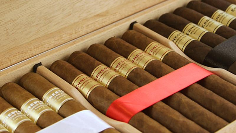 Reaching Into Ernesto's Humidor