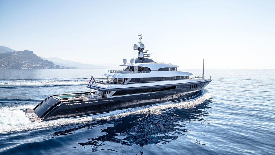 Five Superyachts Showing At The Monaco Yacht Show