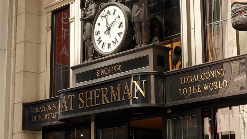 Nat Sherman Townhouse Reopens Following Acquisition
