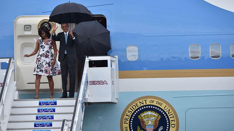 Obama Lands In Cuba, Holds Press Conference With Castro