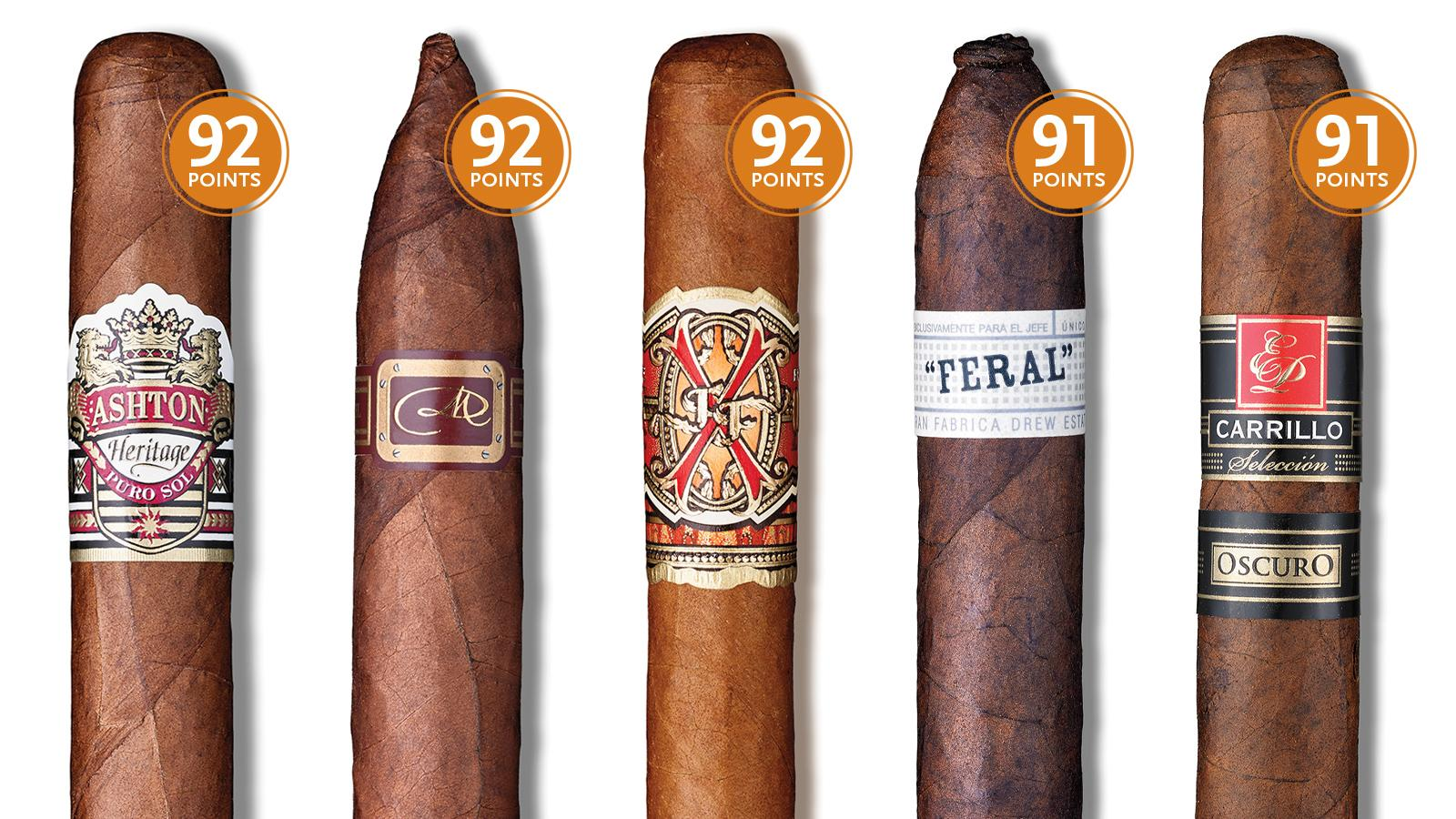Cigar Aficionado's October 2016 Tasting: 11 Cigars To Smoke Right Now