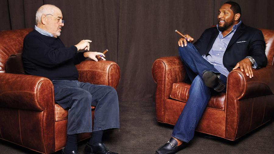 One-On-One: Football Legend Ray Lewis And Marvin R. Shanken