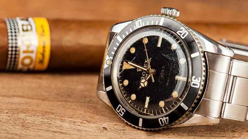 A Vintage Cuban Rolex Submariner Preserves A Piece of History