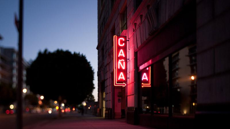 Where To Smoke: Caña Rum Bar, Downtown Los Angeles