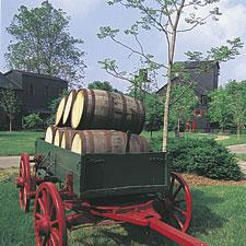 A look at the Maker's Mark Distillery.