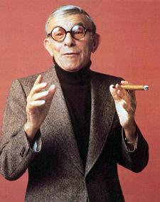portrait george burns.