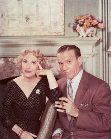 gracie allen and george burns portrait.