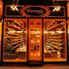 The only official Cigar Aficionado lounge in the world, inside New York's Cigar Inn.