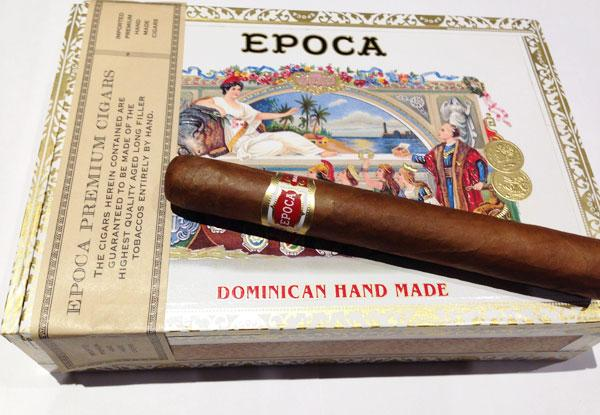 Epoca cigar from Nat Sherman.