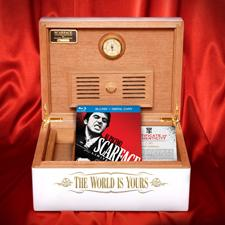 Danny Marshall limited-edition Scarface humidor.