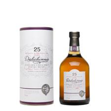 Dalwhinnie 25 Year Old bottle shot.