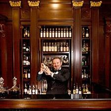Giuseppe Ruo stocks the cigar menu and will prepare a killer Martini, too.