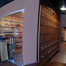 Lordsburg Cigar Lounge humidor.