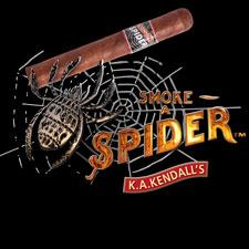 Spider cigar logo.