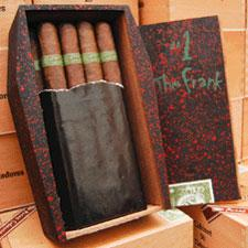 Box shot of Tatuaje's The Frank Monster Series cigar.