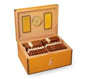 The Elie Bleu Presidencia Humidor signed by Fidel Castro.