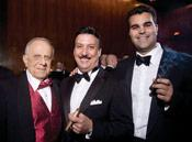 Sal Fontana, Carlos Fuente Jr. and Christian Eiroa in 2007 at <i>Cigar Aficionado</i>'s 15th annual Night to Remember dinner.