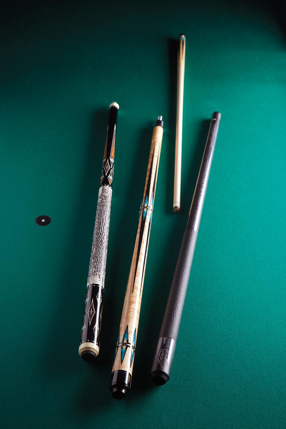 Luxury Pool Cues