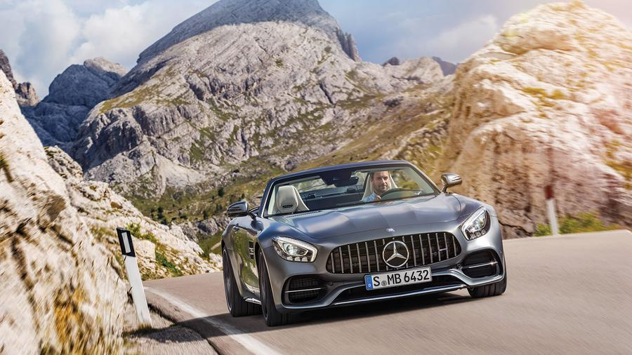 Mercedes Revs Up