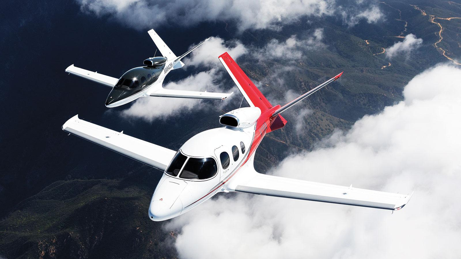 The Cirrus SF50 Vision: The World's First Single-Engine Personal Jet
