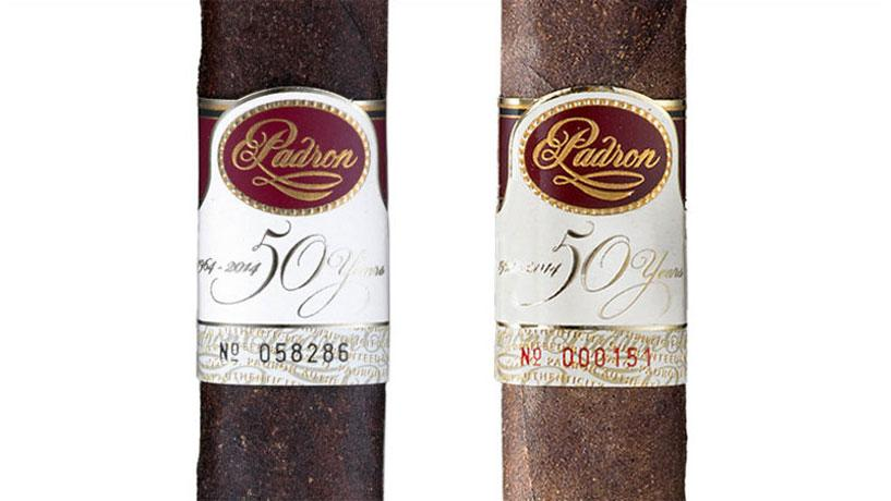 Padrón 50th Anniversary Cigars: Black Ink Vs. Red Ink