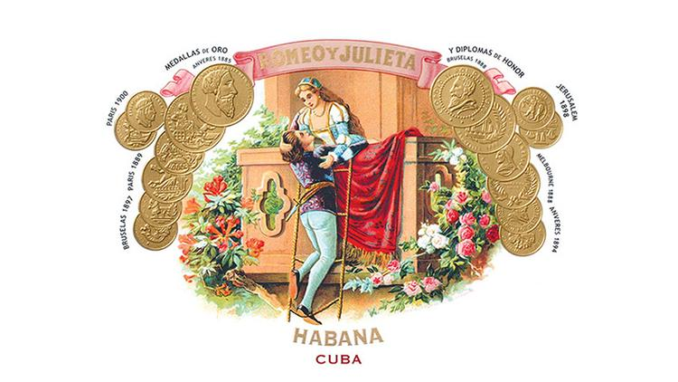 Logo for Romeo y Julieta