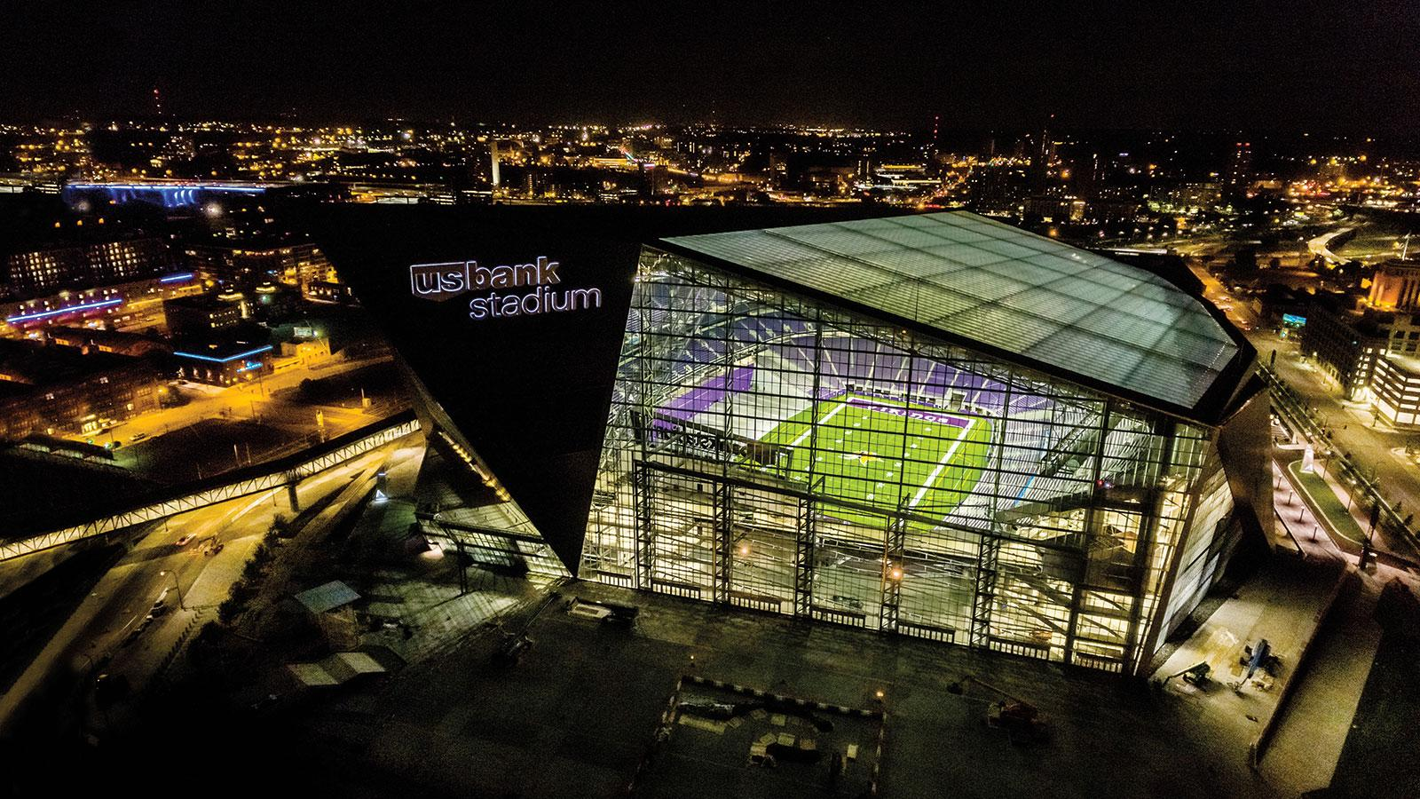 NFL Super Stadiums Shout Out For Super Bowl Consideration