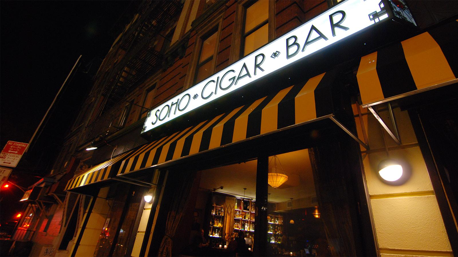 Where To Smoke: Soho Cigar Bar, New York City