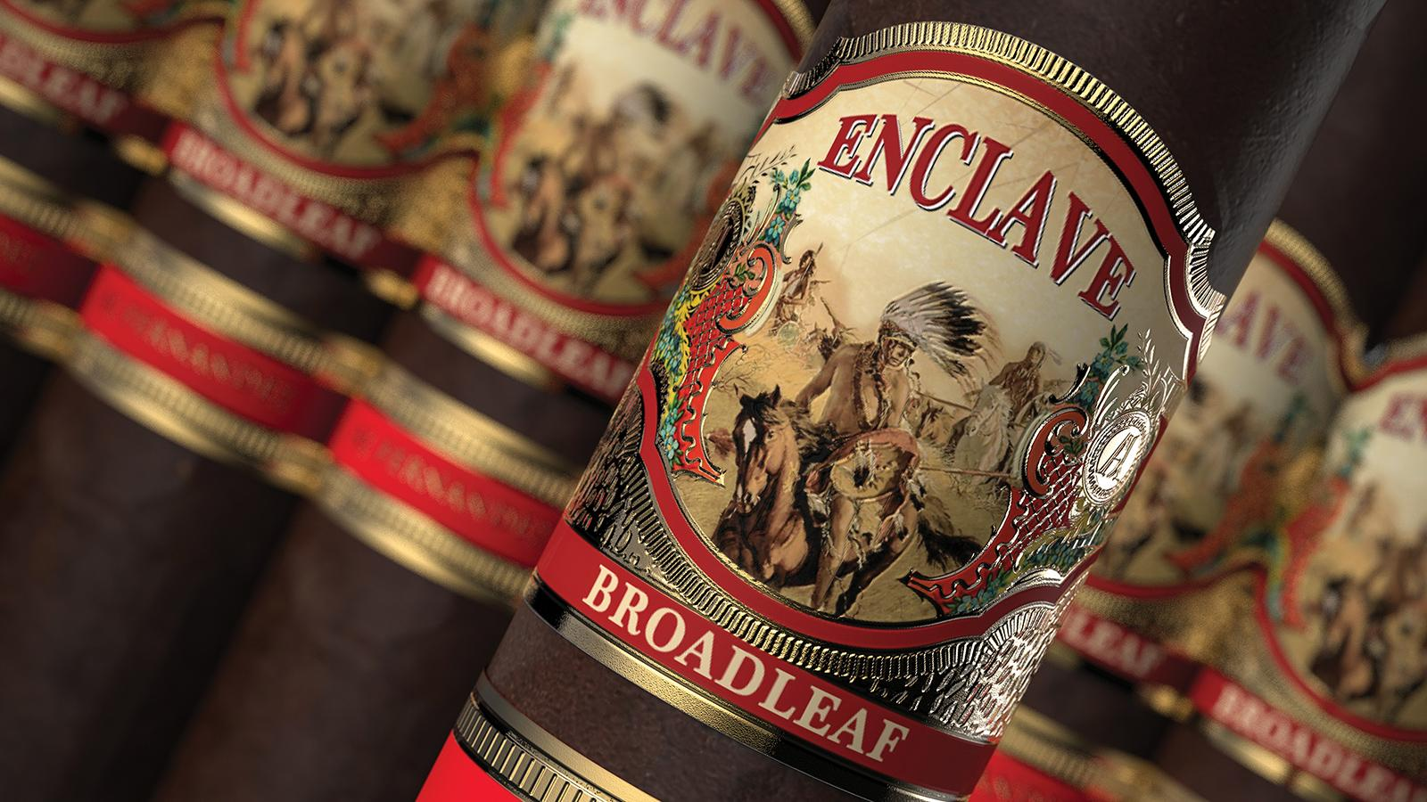 A.J. Fernandez Shows Off First Broadleaf Cigar At IPCPR