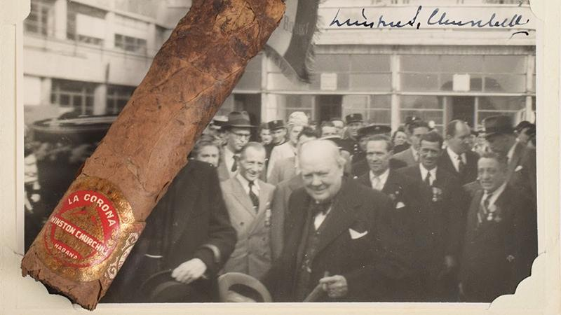 Sir Winston Churchill's Half-Smoked Cigar Sells for $12,000