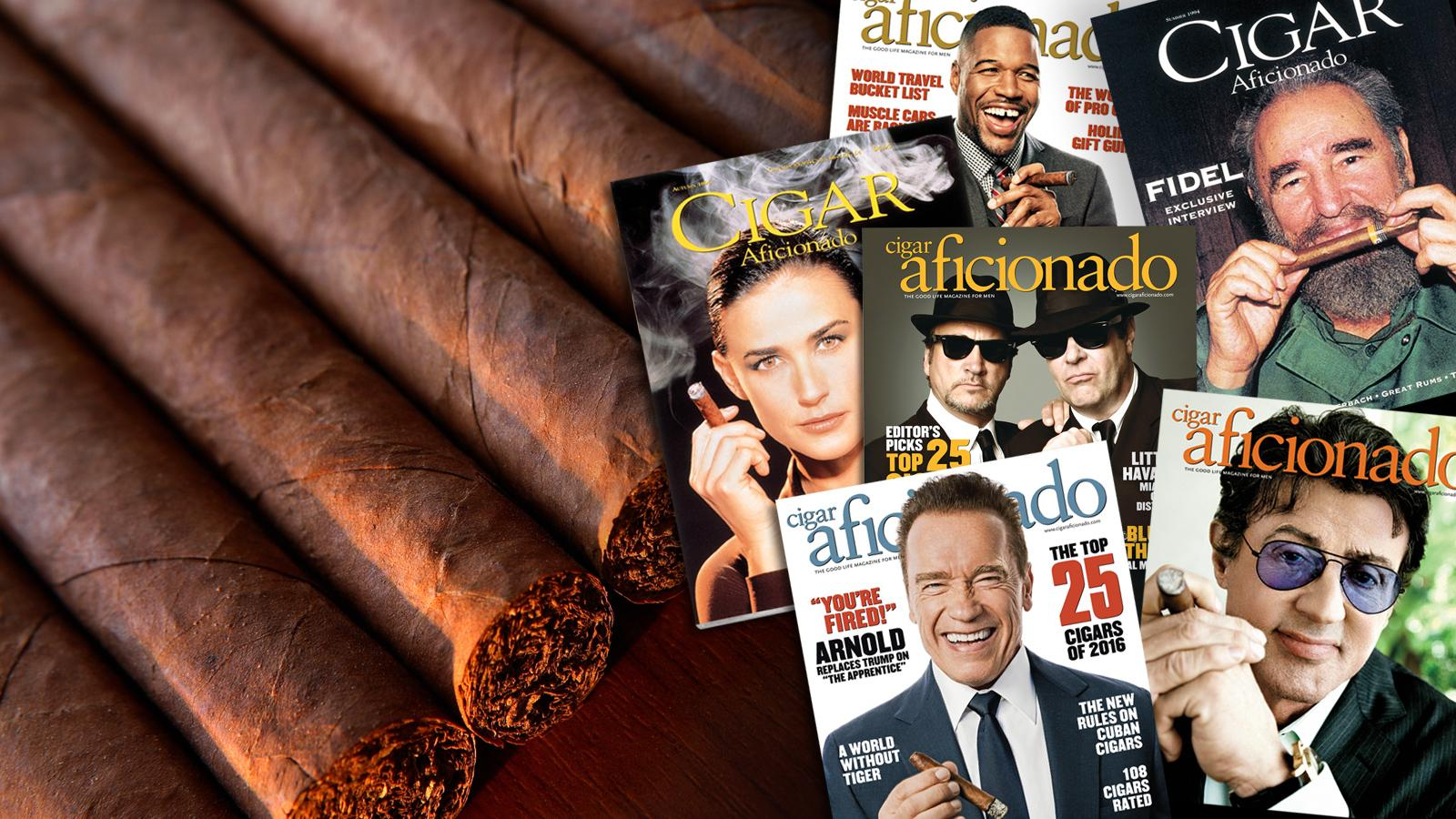Cigar Aficionado Honors 25 Years With Cover Challenge Contest