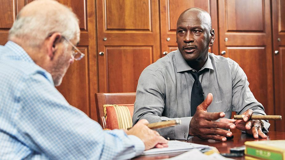 Video Exclusive: Michael Jordan With Marvin R. Shanken, From the December 2017 Issue of Cigar Aficionado
